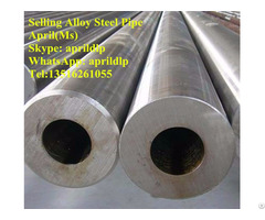 China Manufactured Seamless Alloy Steel Pipes