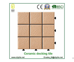 Garden Diy Ceramic Deck Tile