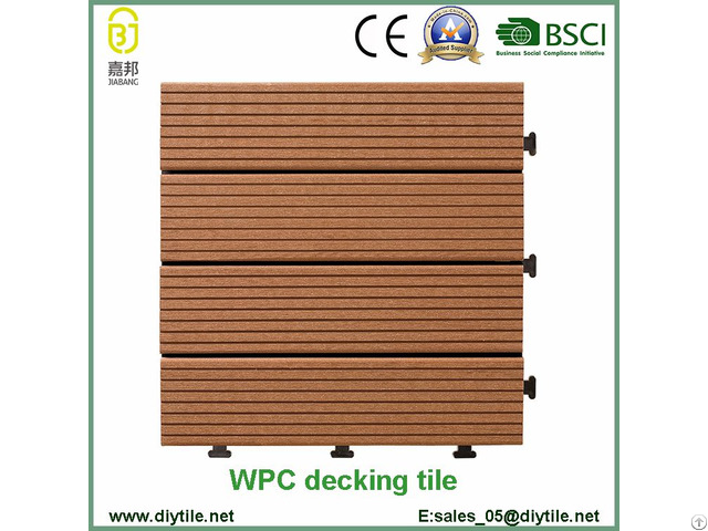 Wholesale Swimming Pool Wpc Flooring Tile Composite Decking