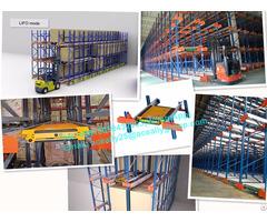 Professional Pallet Racks Manufacturer Heavy Duty Radio Shuttle Racking For Sale