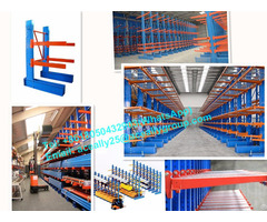 Warehouse Industrial Cantilever Racking For Rebar Storage