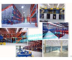 Warehouse Storage Heavy Duty Mezzanine Floor Perforated Steel Structure Platform