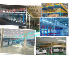Metal Storage Rack Steel Platform Floor For Warehouse