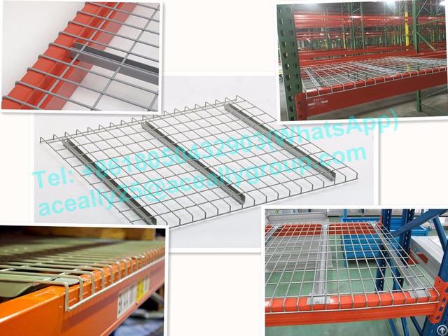 Steel Pallet Rack Wire Mesh Decking