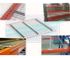 Steel Pallet Rack Wire Mesh Decking