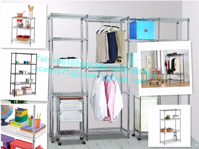 Nsf Grid Wire Modular Shelving And Storage Cubes