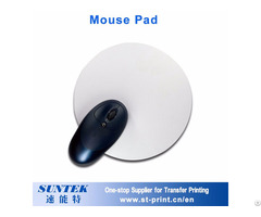 Round Shape Mouse Pad With Sublimation Printing Blank