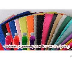 Good Fineness Of Water Based Pigment Paste