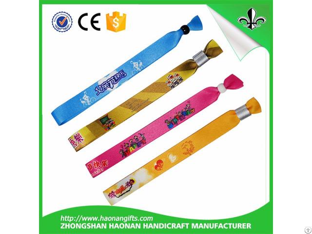 Wristband With Custom Design Logo