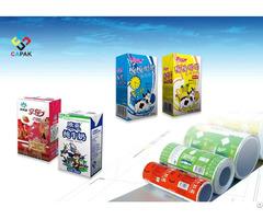 Milk Aseptic Brick Package Roll
