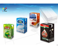 Milk And Juice Aseptic Packages Sleeve