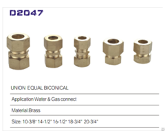 Zg Brass Fittings