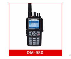 Dm 980 Digital Dmr Dual Band Radio With Analog 5w Uhf Vhf