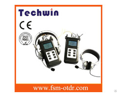 Techwin Talk Set Tw4103 Fttc Checker With Gold Supplier