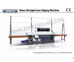 Sanken Glass Straight Line Edging Machine Ske-9