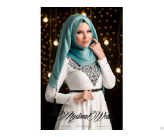 Mw Hijabs Antique Blue