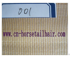 Horse Tail Hair Fabric For Decoration