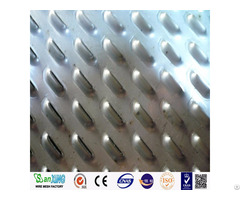 Stainless Steel Flat Perforated Metal Sheet