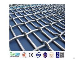 Pvc Galvanized Green Vinyl Coated Chain Link Fence
