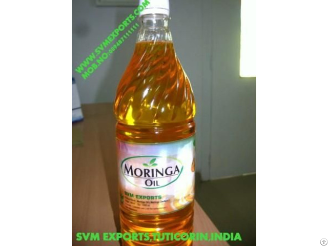 Natural Moringa Seed Oil Suppliers
