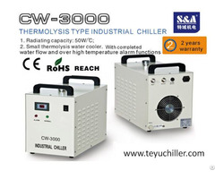 S And A Water Cooler Cw 3000 For Cooling 80w Optics And Lasers