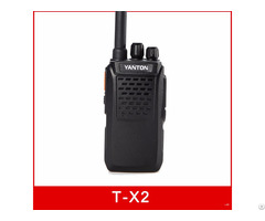 T X2 Digital Public Network Walkie Talkie Gps Wcdma Sim Card Radio Smartptt