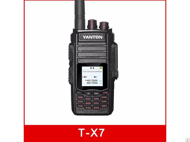 T X7 Wcdma Gsm Radio With Analog Gps Uhf 2w Ani