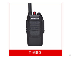 T 650 10w Professional Fm Transceiver Analog Radio