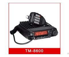 Tm 8600 Vhf Uhf Vehicle Mobile Transceiver 60w Scrambler