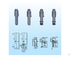 Toyota Wire Cut Part And Die Cast Core Pins With High Quality