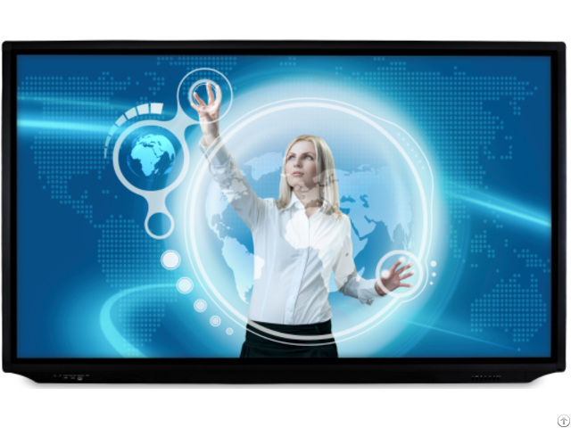 Interactive Flat Panel Display With 86