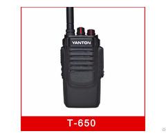 T 650 10w Professional Fm Transceiver Analog Radio