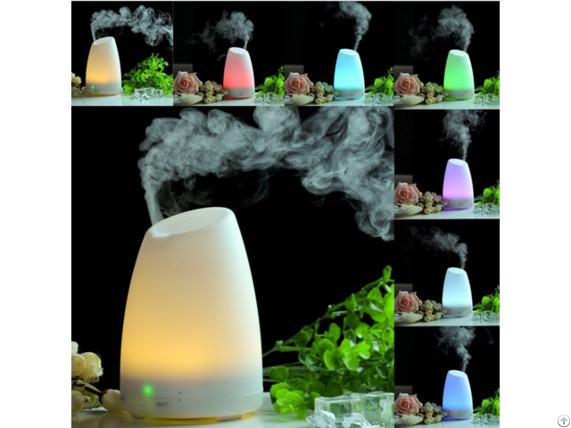 Color Changing Led Light Ultrasonic Aroma Humidifier Essential Oil Diffuser