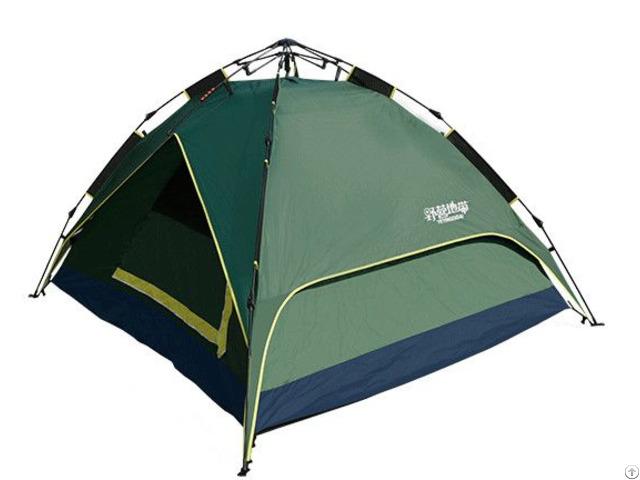 Hydraulic Aluminium Quick Camping Tent With Aluminum Coating