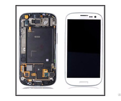 Lcd Display Touch Screen With Frame Digitizer Replacement For Samsung Galaxy S3 I9300