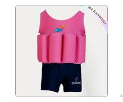 Kids Hot Pink Buoyant Swimwear