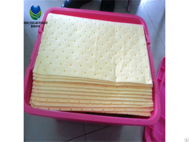 Polypropylene Chemical Harzardous Liquid Oil Absorbent Pad