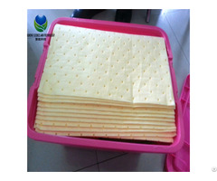 Polypropylene Chemical Harzardous Liquid Oil Absorbent Pad