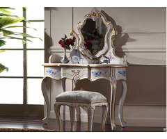 Baroque Dressing Table With Mirror