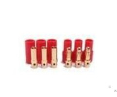 Amass Banana Plug 3 5mm Three Core 24k Gold Connector For Motor
