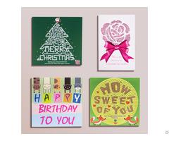The Handmade Rhinestone Greeting Cards