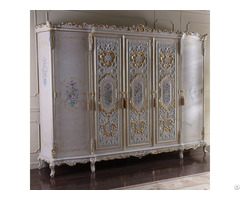 Baroque Solid Wood Wardrobe