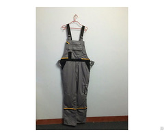 Comfortable Bib Overall Dungaree Safety Workwear