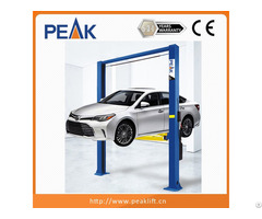 Clear Floor Two Post Car Lift For Sale