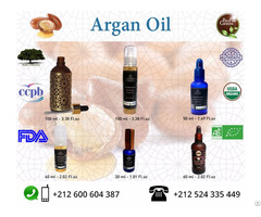 100% Pure And Certified Organic Argan Oil With Private Label