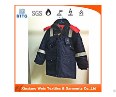 Flame Retardant Antistatic Winter Insulated Parka Jacket