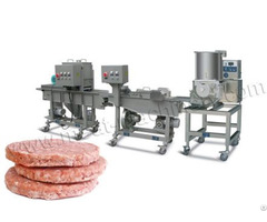 Sale For 100kg H Burger Patty Production Line