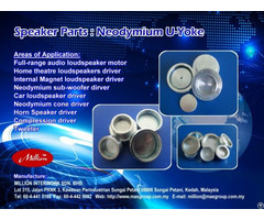 U Yokes For Raw Neodymium Ndfeb Speakers Driver