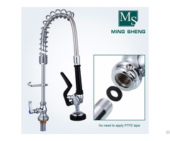 Easy Install Mini Type Deck Mounted Kitchen Sink Pre Rinse Spray For Bar