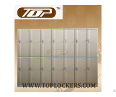 Double Tier Abs Plastic Cabinet Strong Lockset For Security